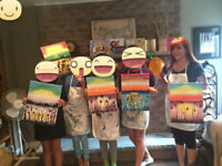 Painting Birthday pARTies for Kids!