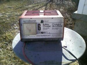 12 & 6 Volt 6A Battery Charger
