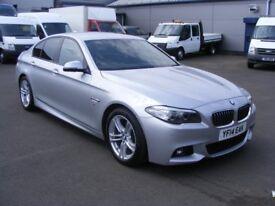 BMW 5 SERIES 520d M SPORT (silver) 2014
