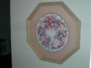 """Wreath of Roses"" Framed Limited Edition Print by Lena Y. Liu"
