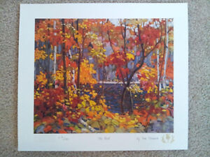 """Tom Thomson """"Northern Icons Suite 1"""" Limited Edition set"""