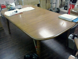 Office Furniture, Desks, chairs, filing cabinet, fridge, table