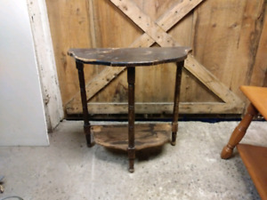 Antique side table.