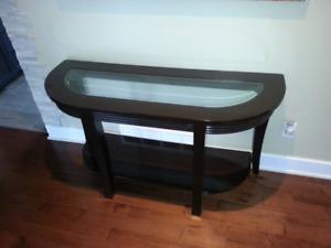 Table d'appoint 150$ et Table salon ovale 150$
