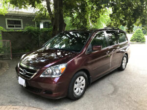 2007 Honda Odyssey, Low Kms, Original Owner, No Accidents