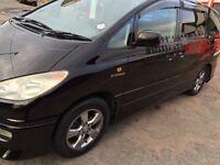 2003 black 8 seater Estima import previa