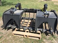 "Heavy Duty 80'' Grapple, 80'&96"" Buckets"