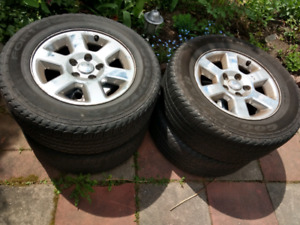 Tires on mags 245 65 17