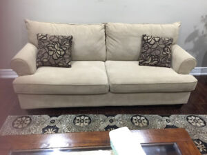 sofa sets and other items for sale