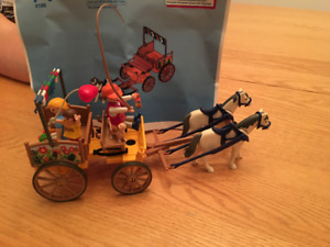 Playmobil 4186 - Famille et calèche / Family and carriage