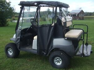 Weather protection for Club Car Precedent