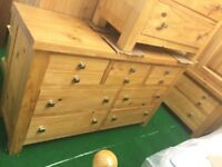 New solid oak furniture cheap £260 each