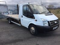FORD TRANSIT SLIDE AND TILT RECOVERY TRUCK