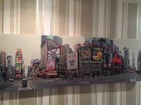 Large New York panoramic canvas
