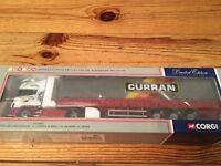 Corgi model Lorry Scania Topline Curtainside D Curran & Son LTD Bangor