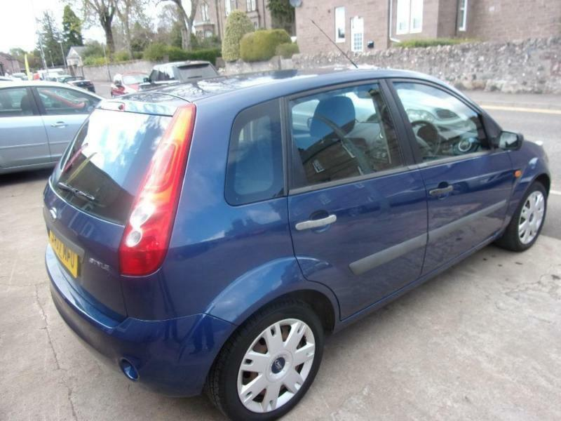 FORD FIESTA 1.4 style 2007 Petrol Manual in Blue