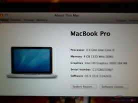 MacBook Pro 2011 13in i5