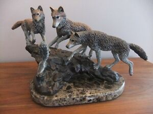 Artists Proof - Wolf Sculpture