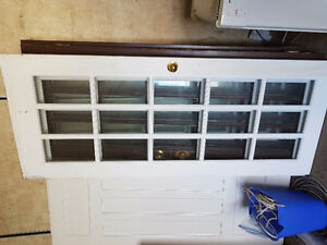 SOLID WOOD DOORS with glass windows
