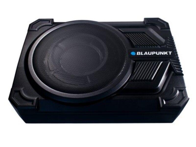 "Blaupunkt GTHS131 10"" Super Slim Amplified Powered Subwoofer +Under Seat +Remote"