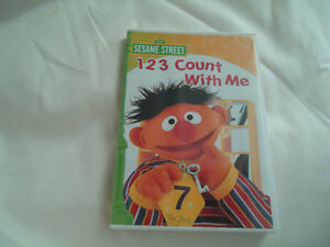 123 Count With Me Sesame Street DVD