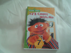 123 Count With Me Sesame Street DVD Kingston Kingston Area image 1