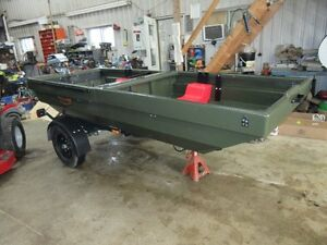 ATV Trailer that flips into a BOAT - TETRA-POD. Kitchener / Waterloo Kitchener Area image 2