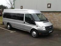 Ford TRANSIT 115 17-SEAT RWD twin axel 2007 07 reg Only 2 owners from new