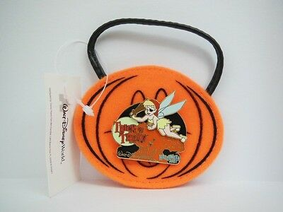 Disney Tinker Bell as a Pirate Trick or Treat Bag Halloween 2007 AK LE - Pirate Halloween Trick Or Treat Bag