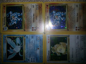 1999 rare first edition Holographic Pokemon cards