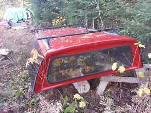 Fiberglass Full Size Truck Topper 8 Foot Box