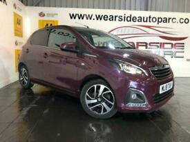 image for 2018 Peugeot 108 1.2 PURETECH ALLURE 5d 82 BHP Hatchback Petrol Manual