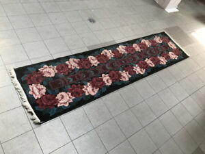 "Runner / Rug / Carpet 2.5"" x 10.5"" in good condition"