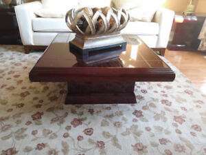 Moving Sale - Coffee table and end tables