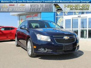 2011 Chevrolet Cruze LT Turbo I Fuel Efficient  - SiriusXM -  On