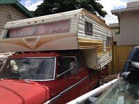 1974 Ford Truck with Camper Hunters Camper