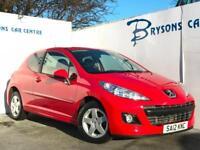 2012 12 Peugeot 207 1.4 75 Sportium Manual for sale in AYRSHIRE