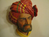 hand painted bosson heads