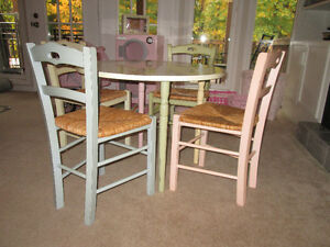 Pottery Barn Kids Play Table and Chairs Set
