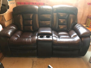 1 year old leather couch