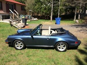1989 Porsche 911 Convertible Cabriolet Impeccable