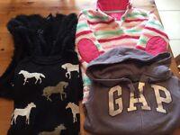 Girls winter clothes bundle, age 9-10