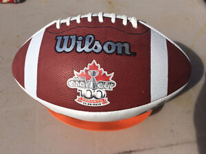 Brand New Wilson Football commemorating 100th Grey Cup
