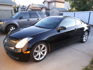2006 Infiniti G35 Coupe All Black