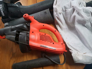 Black and Decker electric leaf blower