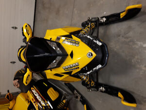 08 Skidoo renegade 800R New studded track $5300 obo