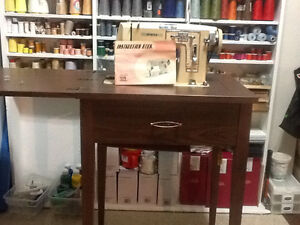 Sewing table antique 1960