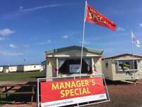 Great starter Static caravan for sale pet friendly 12 month season park