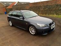 2008 BMW 5 Series 2.0 520d M Sport Touring 5dr
