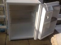 White under counter fridge. Clean and fully working . Bargain .